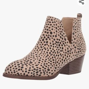CL by Chinese laundry leopard ankle boot